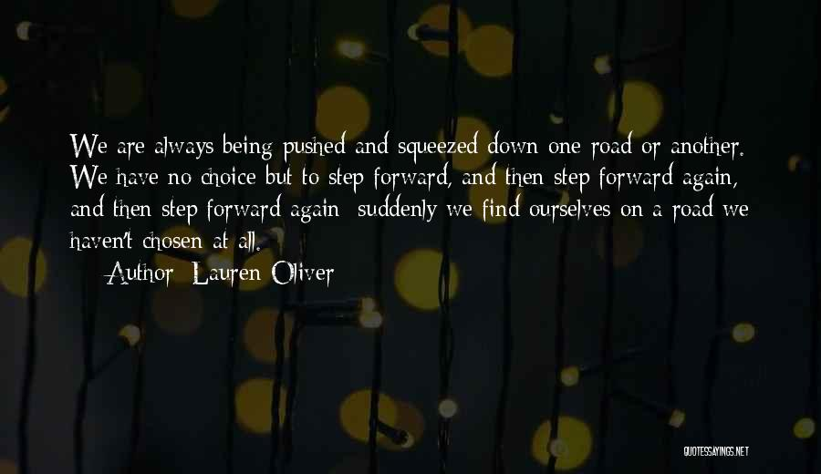 One Step Forward Quotes By Lauren Oliver