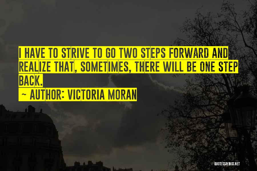 One Step Forward Quotes By Victoria Moran