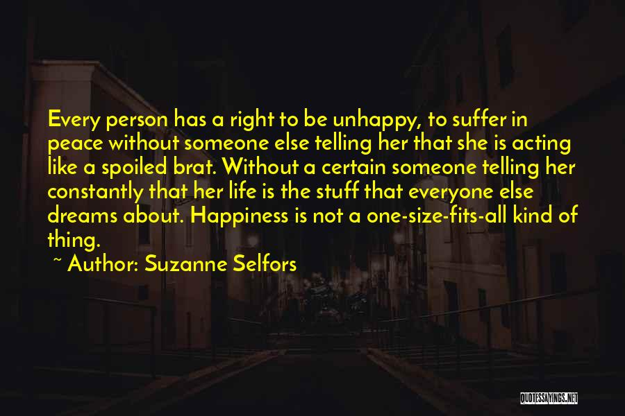 One Thing Is Certain Quotes By Suzanne Selfors