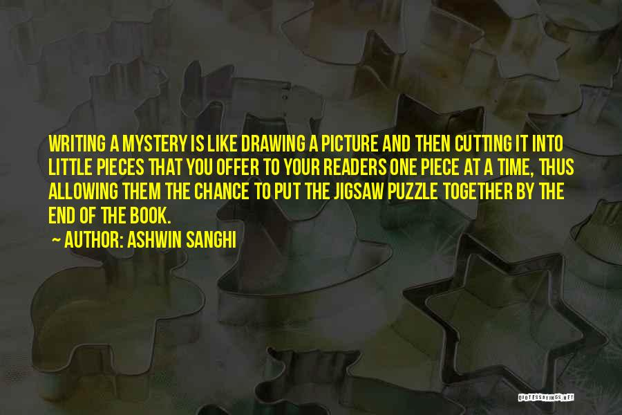 One Time Chance Quotes By Ashwin Sanghi