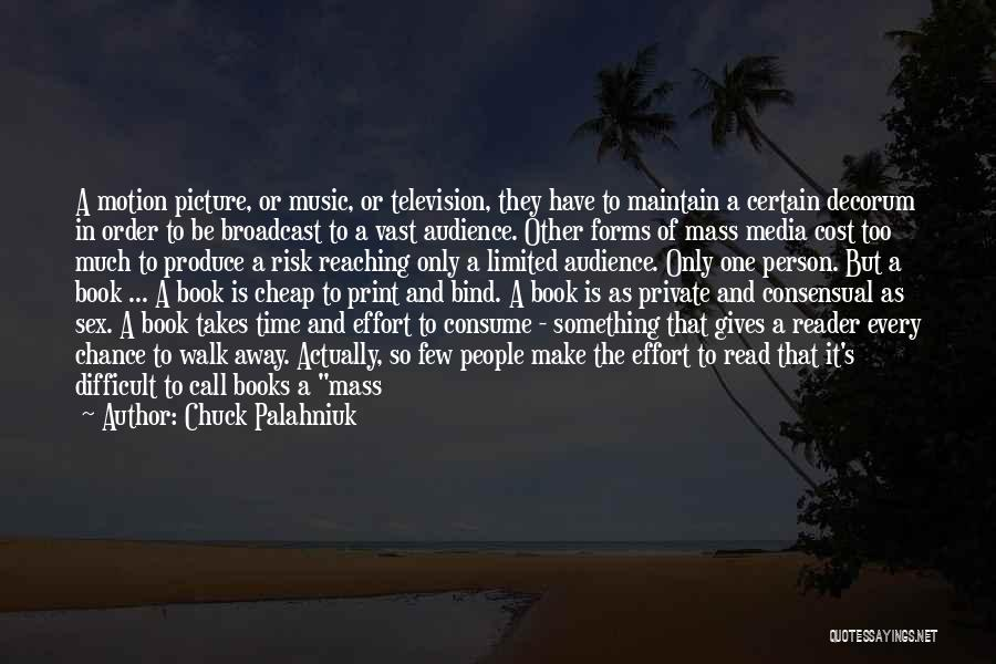 One Time Chance Quotes By Chuck Palahniuk
