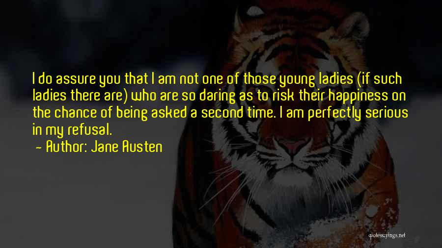 One Time Chance Quotes By Jane Austen