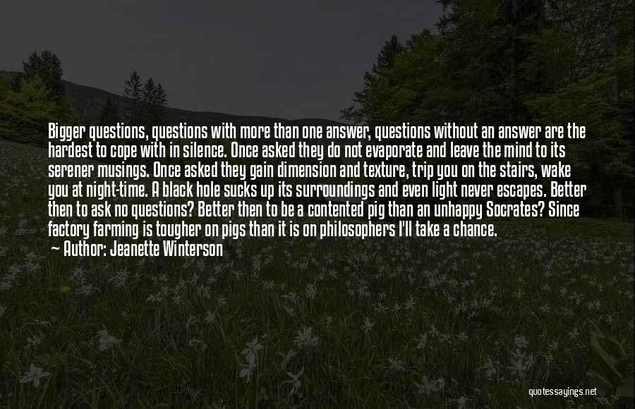 One Time Chance Quotes By Jeanette Winterson