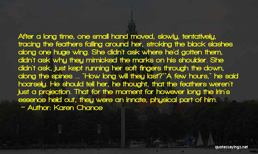 One Time Chance Quotes By Karen Chance
