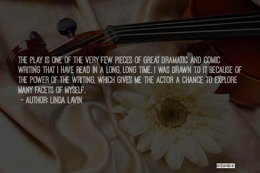 One Time Chance Quotes By Linda Lavin