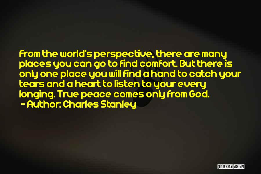 One True God Quotes By Charles Stanley