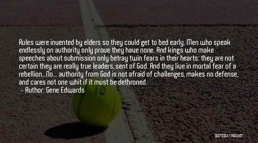 One True God Quotes By Gene Edwards