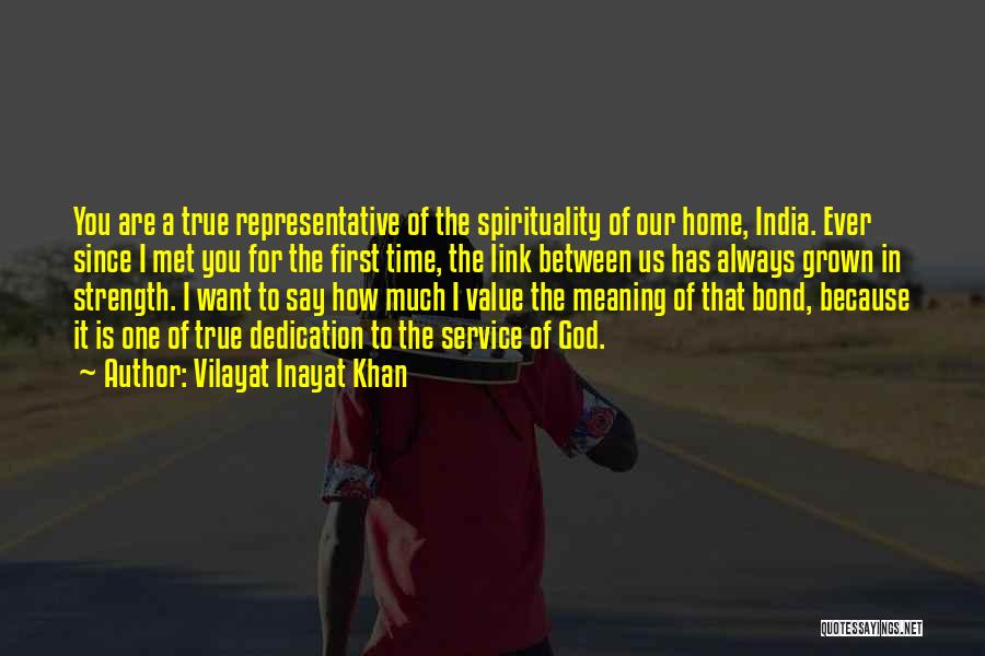 One True God Quotes By Vilayat Inayat Khan