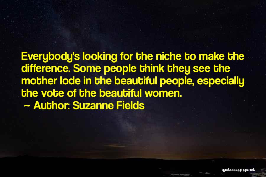 One Vote Can Make A Difference Quotes By Suzanne Fields