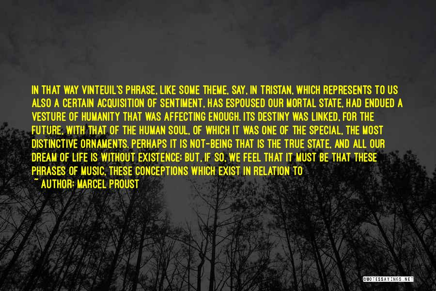 One's Future Quotes By Marcel Proust