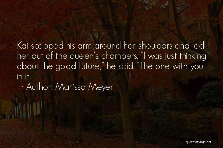 One's Future Quotes By Marissa Meyer