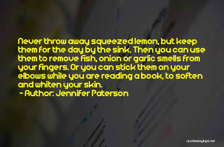 Onion Skin Quotes By Jennifer Paterson
