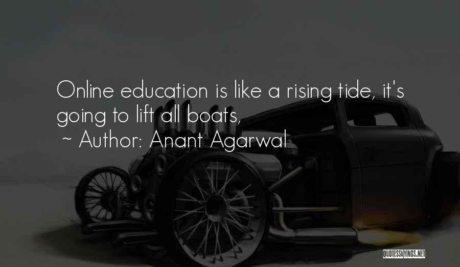 Online Education Quotes By Anant Agarwal