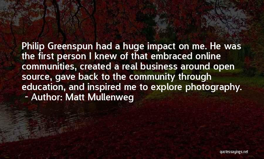 Online Education Quotes By Matt Mullenweg