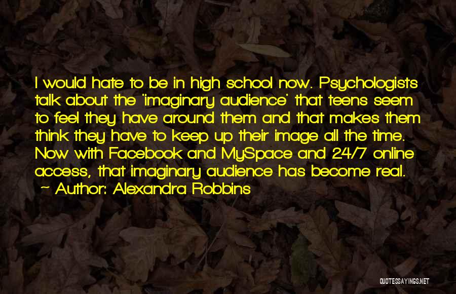 Online School Quotes By Alexandra Robbins