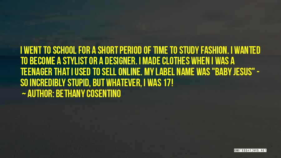 Online School Quotes By Bethany Cosentino