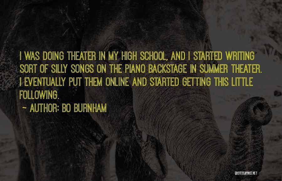 Online School Quotes By Bo Burnham