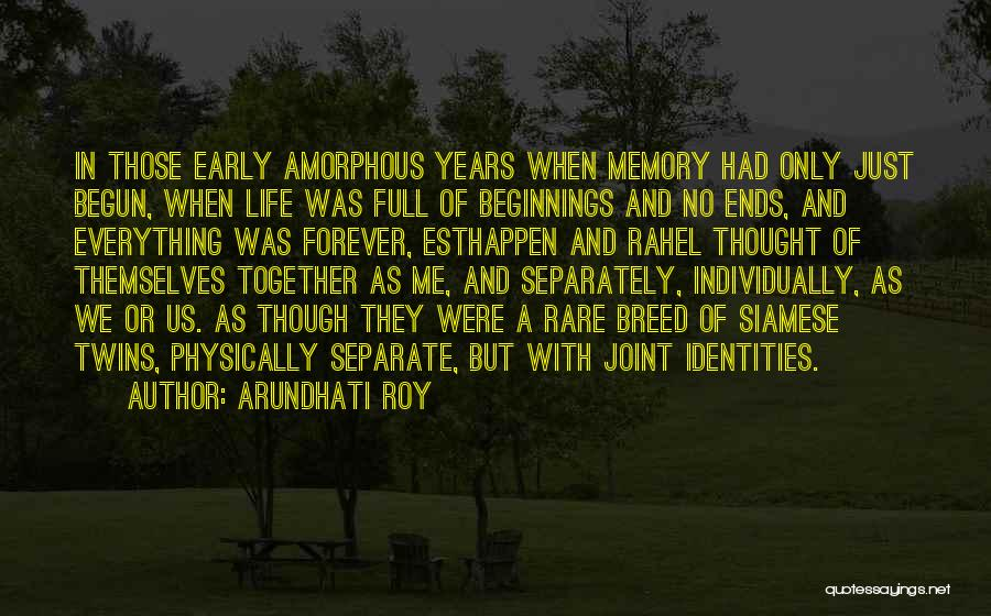 Only Just Begun Quotes By Arundhati Roy