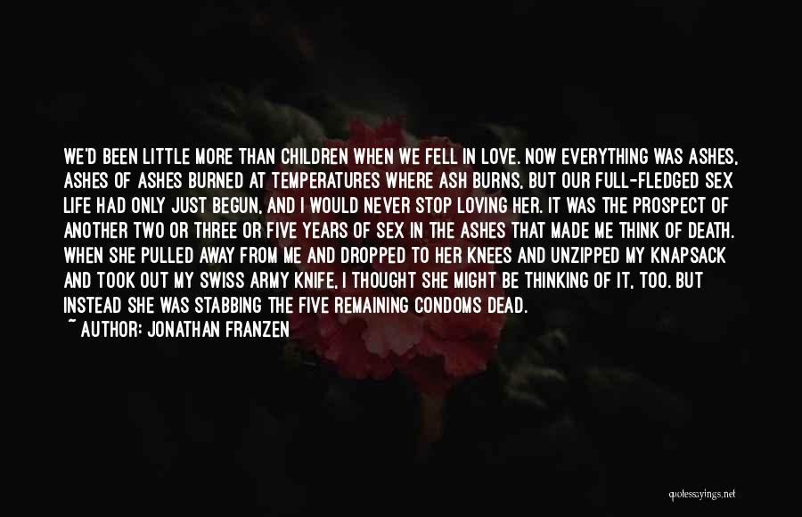 Only Just Begun Quotes By Jonathan Franzen