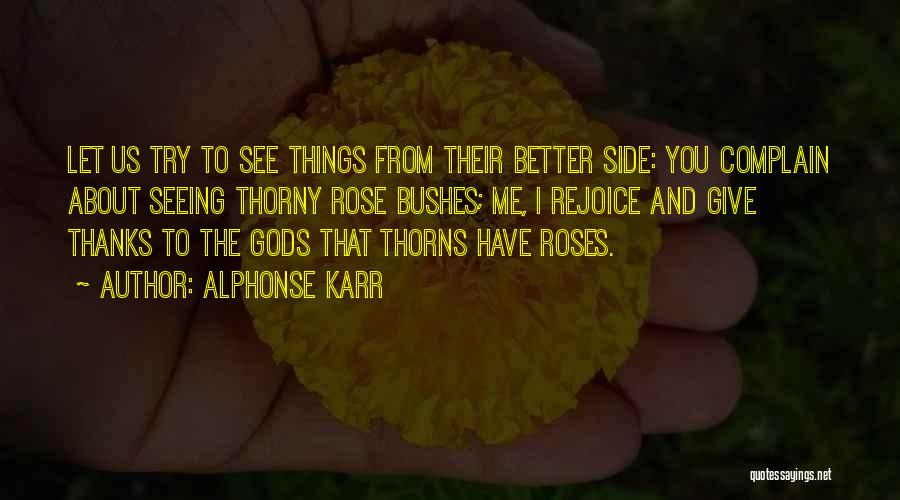 Only Seeing One Side Quotes By Alphonse Karr