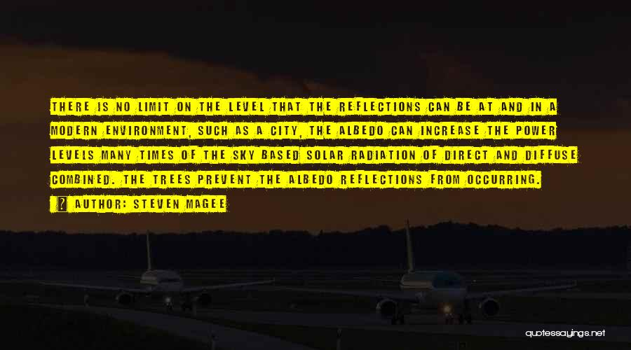 Only Sky's The Limit Quotes By Steven Magee