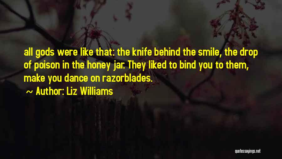Only U Can Make Me Smile Quotes By Liz Williams