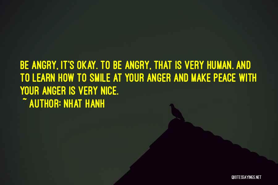 Only U Can Make Me Smile Quotes By Nhat Hanh