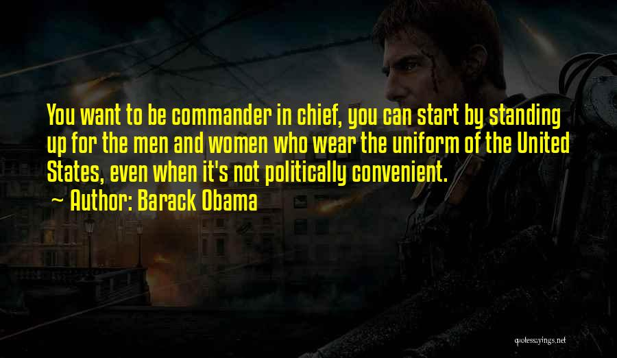 Only When It's Convenient Quotes By Barack Obama