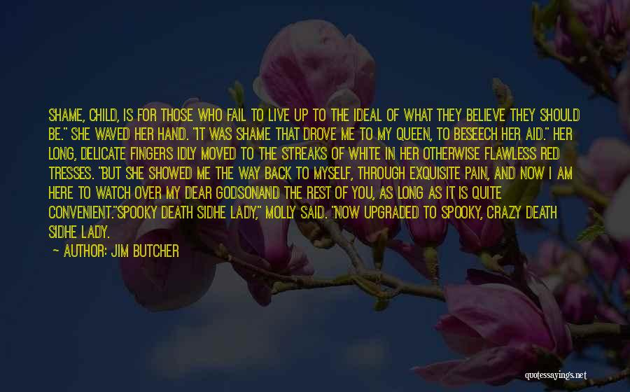 Only When It's Convenient Quotes By Jim Butcher