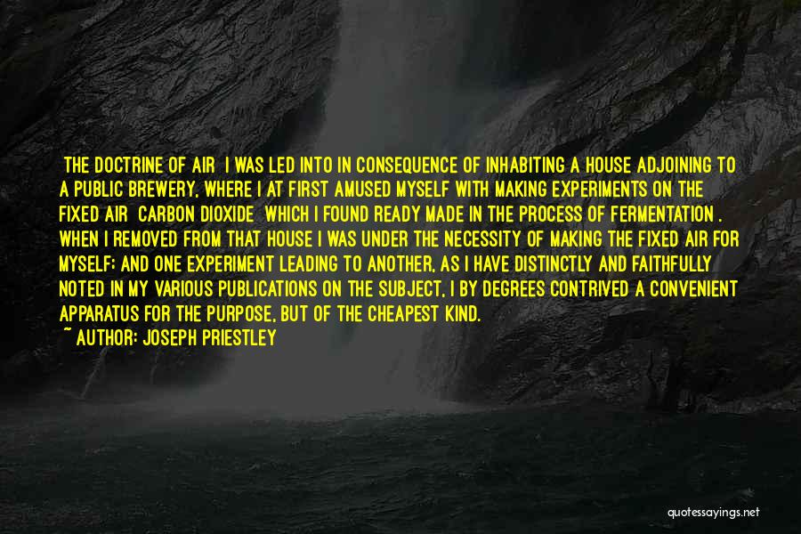 Only When It's Convenient Quotes By Joseph Priestley