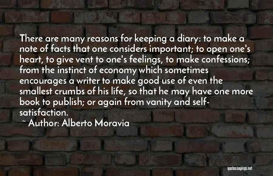Open My Heart Again Quotes By Alberto Moravia