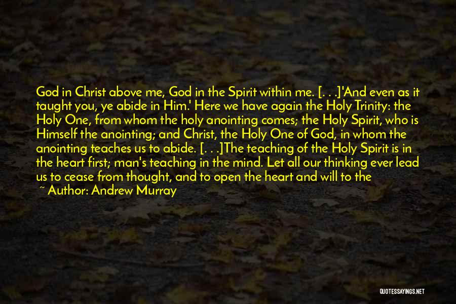 Open My Heart Again Quotes By Andrew Murray