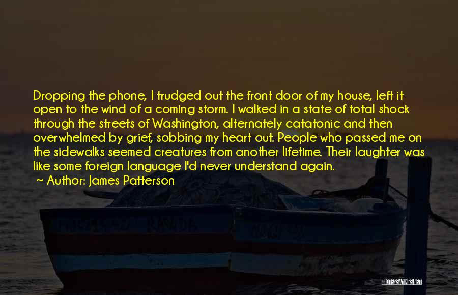 Open My Heart Again Quotes By James Patterson