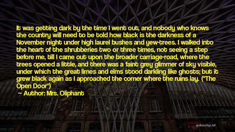 Open My Heart Again Quotes By Mrs. Oliphant