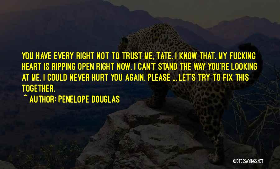 Open My Heart Again Quotes By Penelope Douglas
