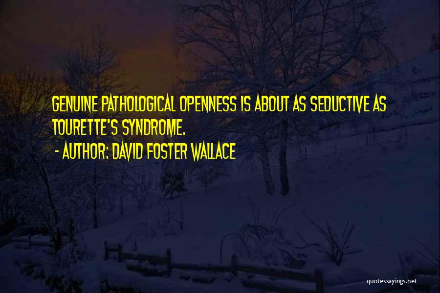 Openness Quotes By David Foster Wallace