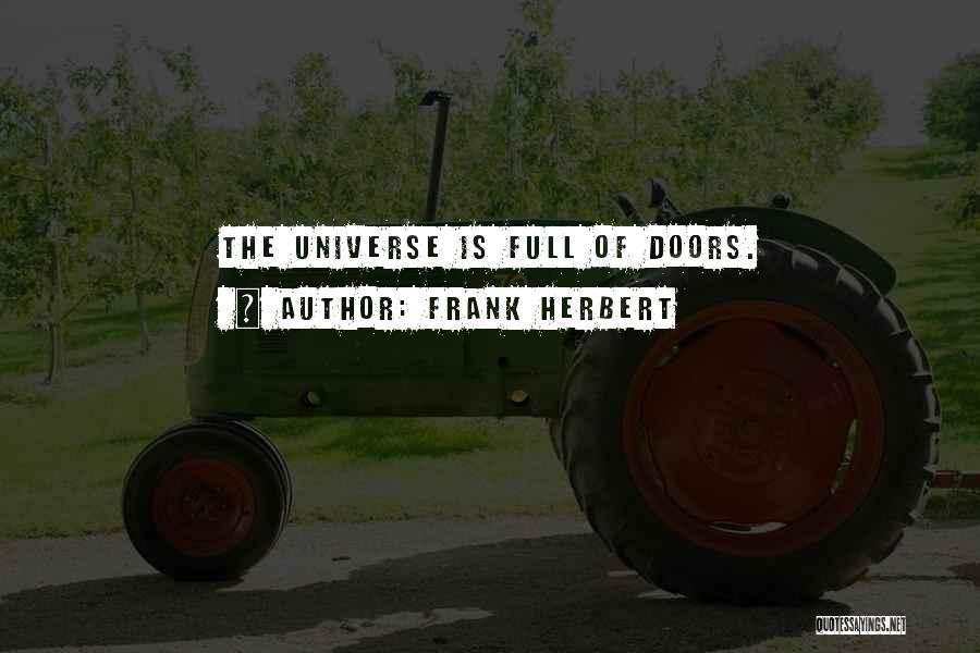 Openness Quotes By Frank Herbert