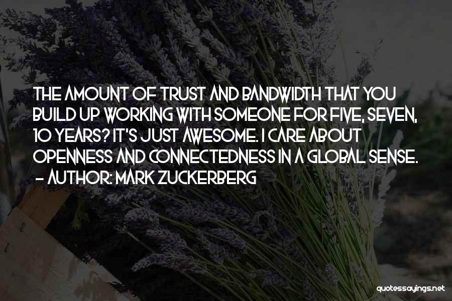 Openness Quotes By Mark Zuckerberg