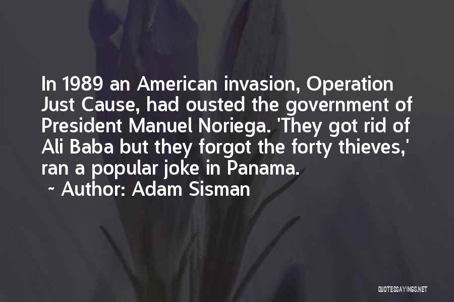 Operation Just Cause Quotes By Adam Sisman