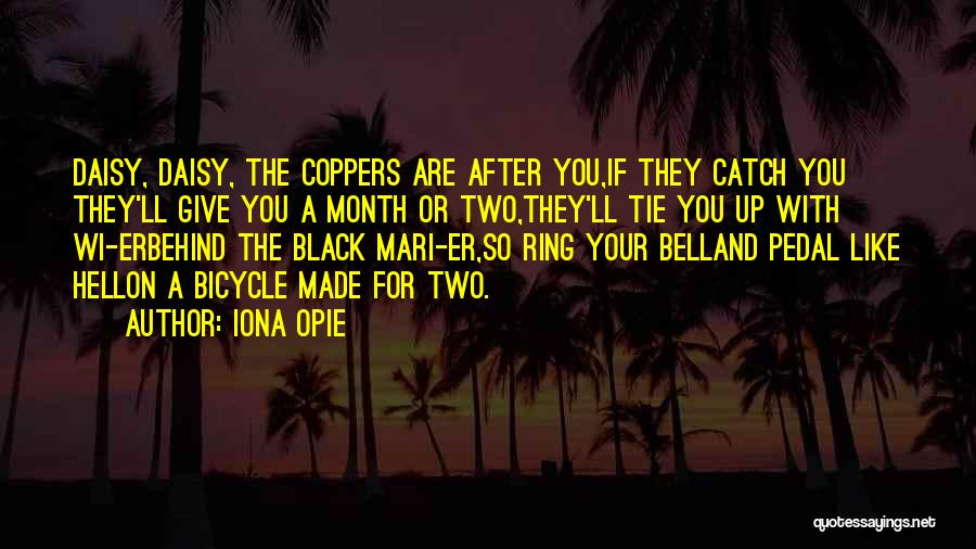 Opie Quotes By Iona Opie