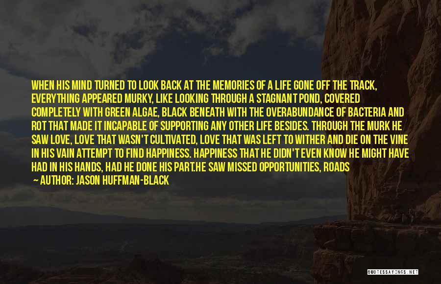 Opportunities In Love Quotes By Jason Huffman-Black