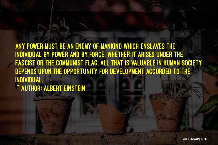 Opportunity Arises Quotes By Albert Einstein