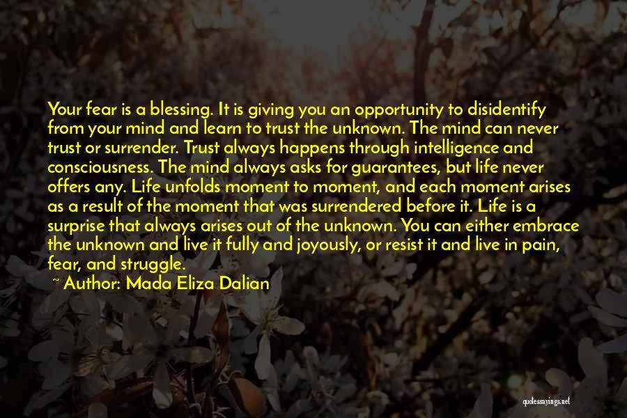 Opportunity Arises Quotes By Mada Eliza Dalian