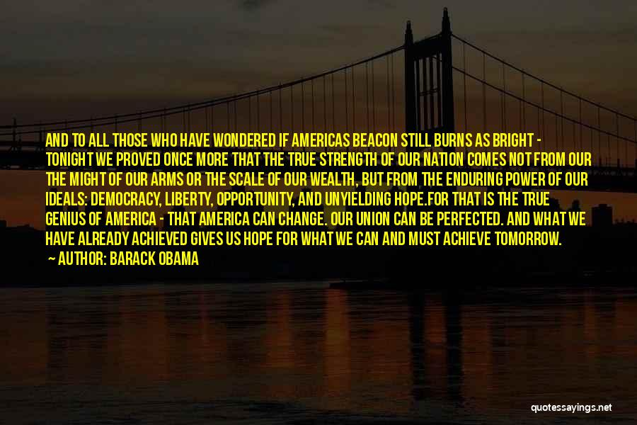 Opportunity Comes Once Quotes By Barack Obama