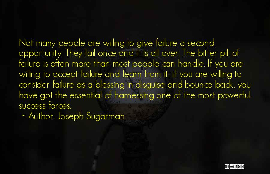 Opportunity Comes Once Quotes By Joseph Sugarman