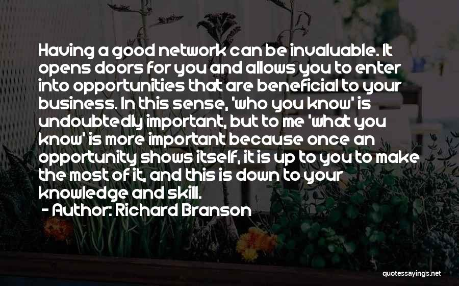 Opportunity Comes Once Quotes By Richard Branson