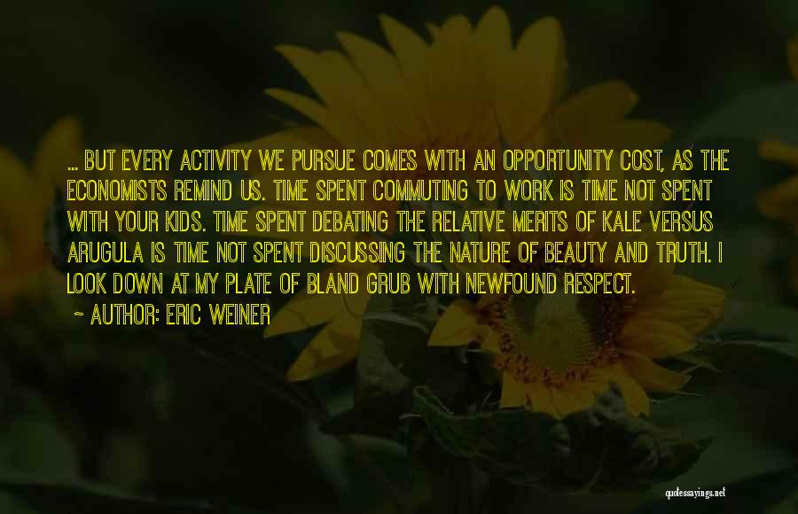 Opportunity Comes Quotes By Eric Weiner