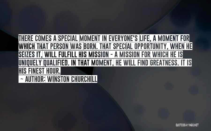 Opportunity Comes Quotes By Winston Churchill