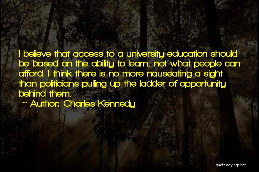 Opportunity Quotes By Charles Kennedy