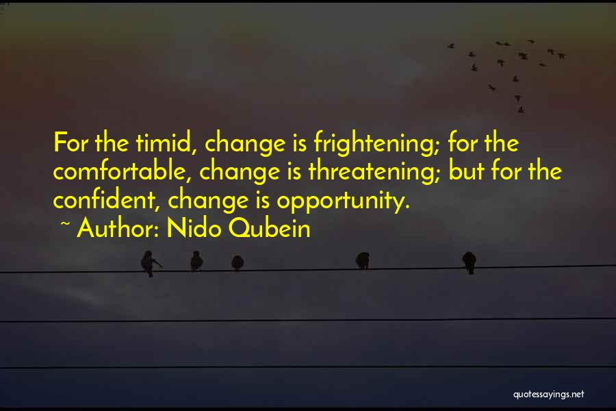 Opportunity Quotes By Nido Qubein